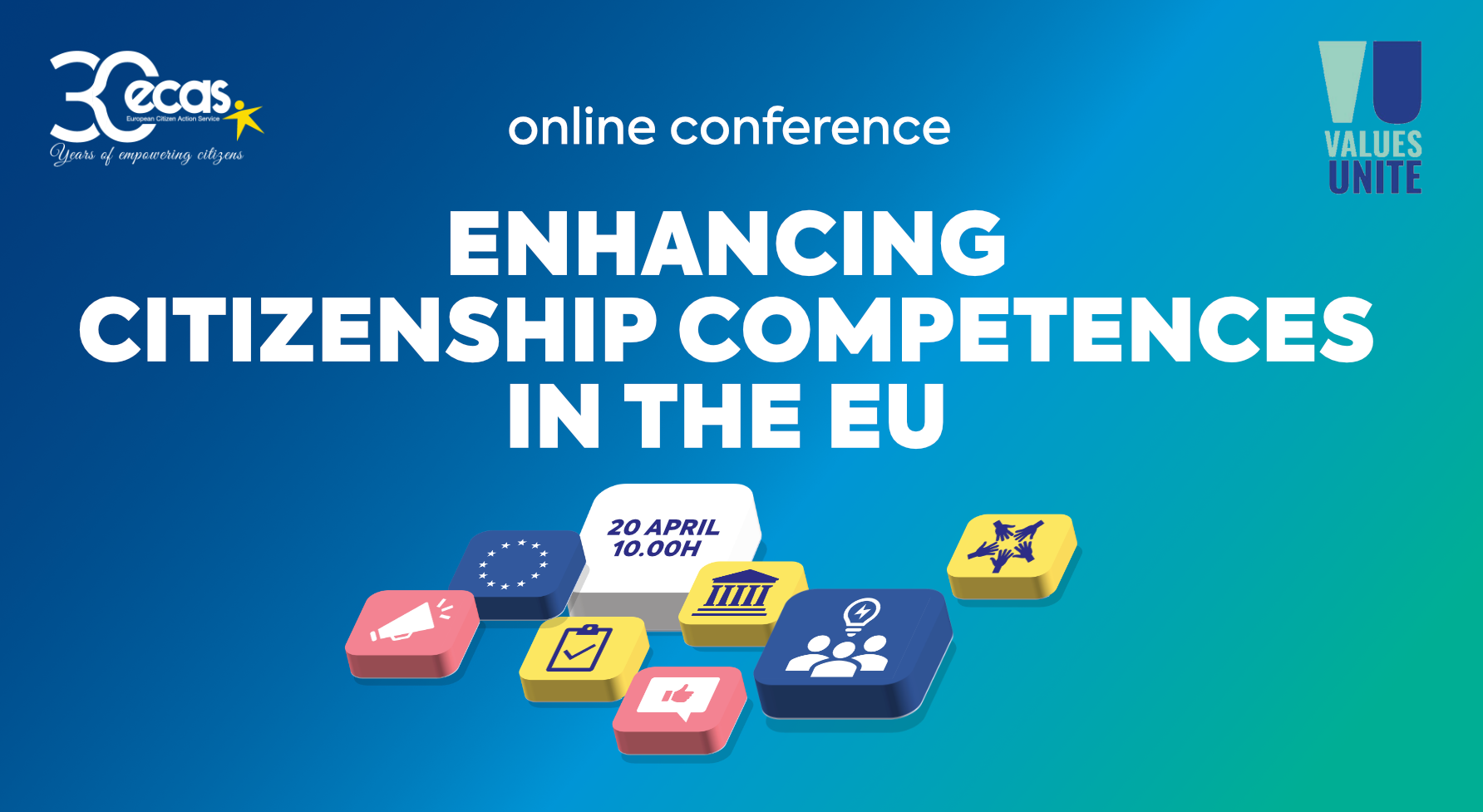 20 APRIL: Online Conference Enhancing citizenship competences