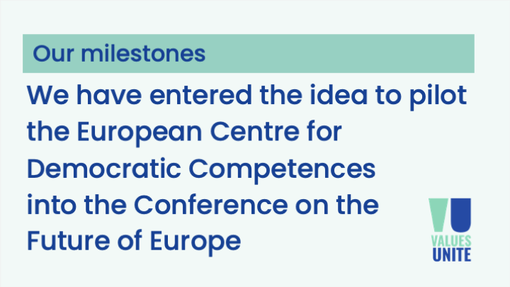 ECDC Proposal submitted to the Conference on the Future of Europe
